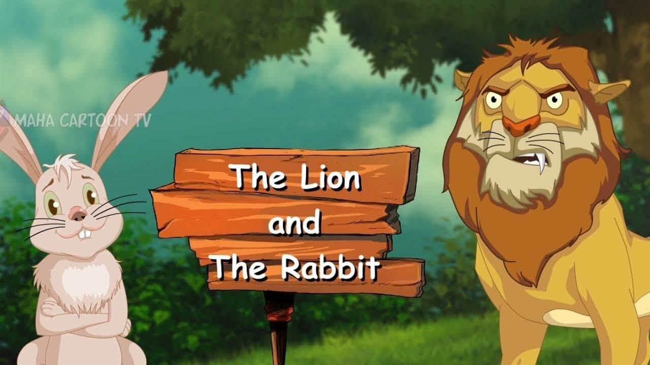 सिंह-शशक-कथा | The Lion and the Rabbit
