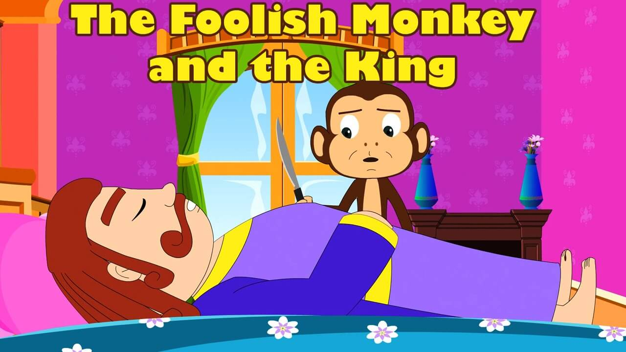 नृपसेवकवानर-कथा | The King's Monkey Servant