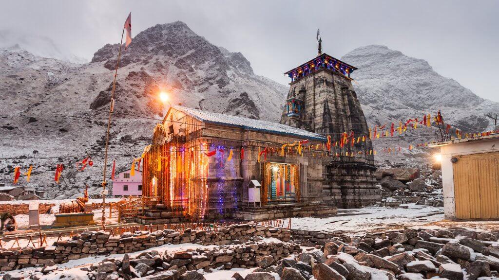 sanskrit essay on kedarnath